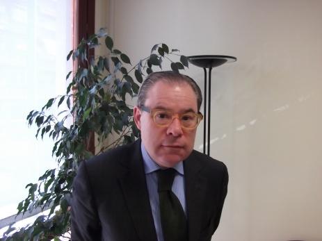 El Dr. Josep Arimany, a la seu del COMB. Foto: Juan Pablo Torrents-Faura